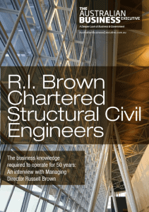 R.I. Brown Chartered Structural Civil Engineers