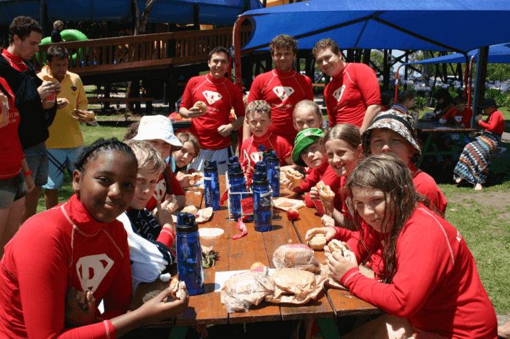 One of Diabetes Victoria initiatives is their Diabetes Junior Camp