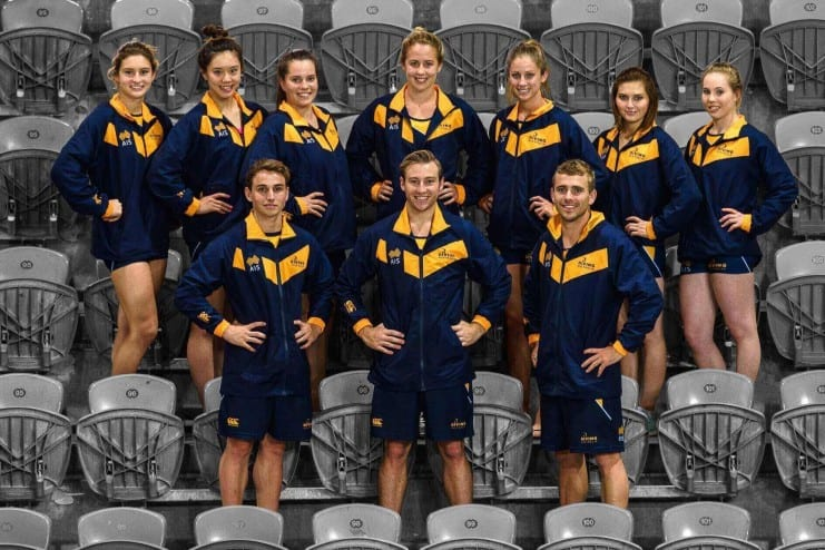 The 2015 Diving Australia National Team