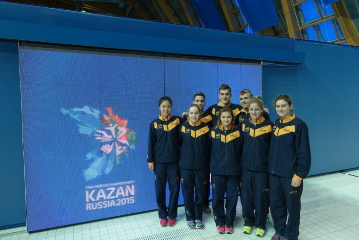 The 2015 Diving Australia National Team took home medals at this year's World Championship in Russia