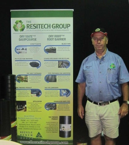 Resitech Group MD Yinon Trieger at the Home Show