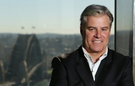World Rugby CEO, Brett Gosper