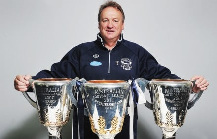 Geelong Cats CEO Brian Cook