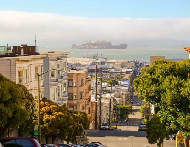 San Francisco is the cultural, commercial and financial centre of Northern California