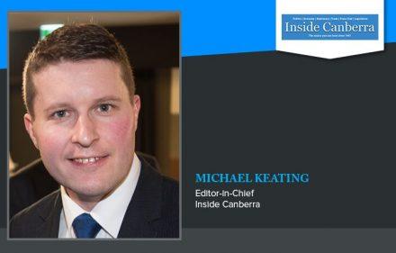 Inside Canberra Michael Keating
